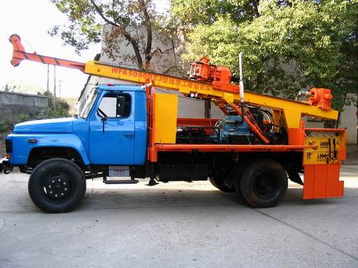 WFA5059DZJ-type rig truck Geological Engineering